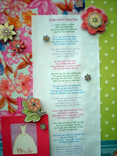 Bachelorette Party Underwear Poem | just b.CAUSE