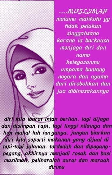 Gambar   Untaian kata Mutiara untuk wanita\/Muslimah Sholehah  Sang Manusia Akhir Zaman