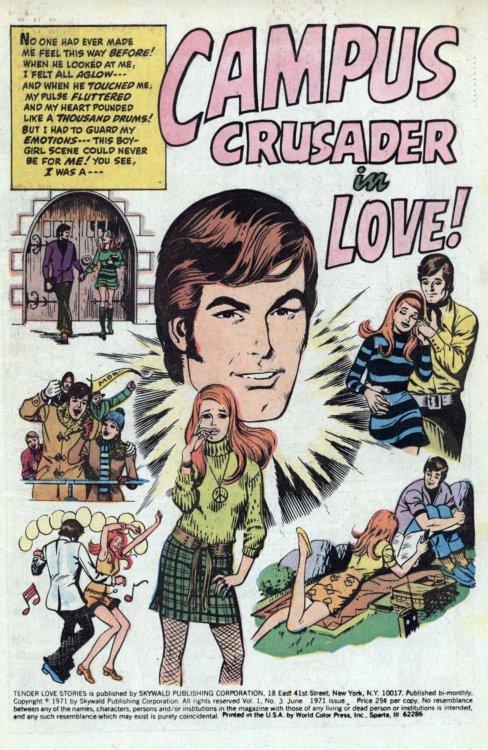 """TENDER LOVE STORIES """"Campus Crusader in Love"""""""