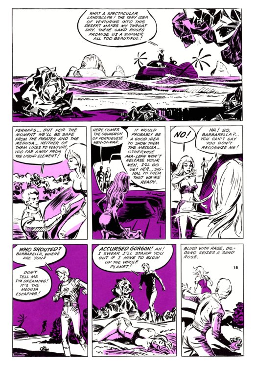 Atomic Kommie Comics: Reading Room: BARBARELLA 1.1