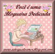 Eu sou uma blogueira dedicada!