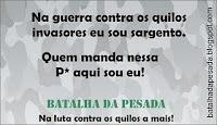 BATALHA DA PESADA!!!!