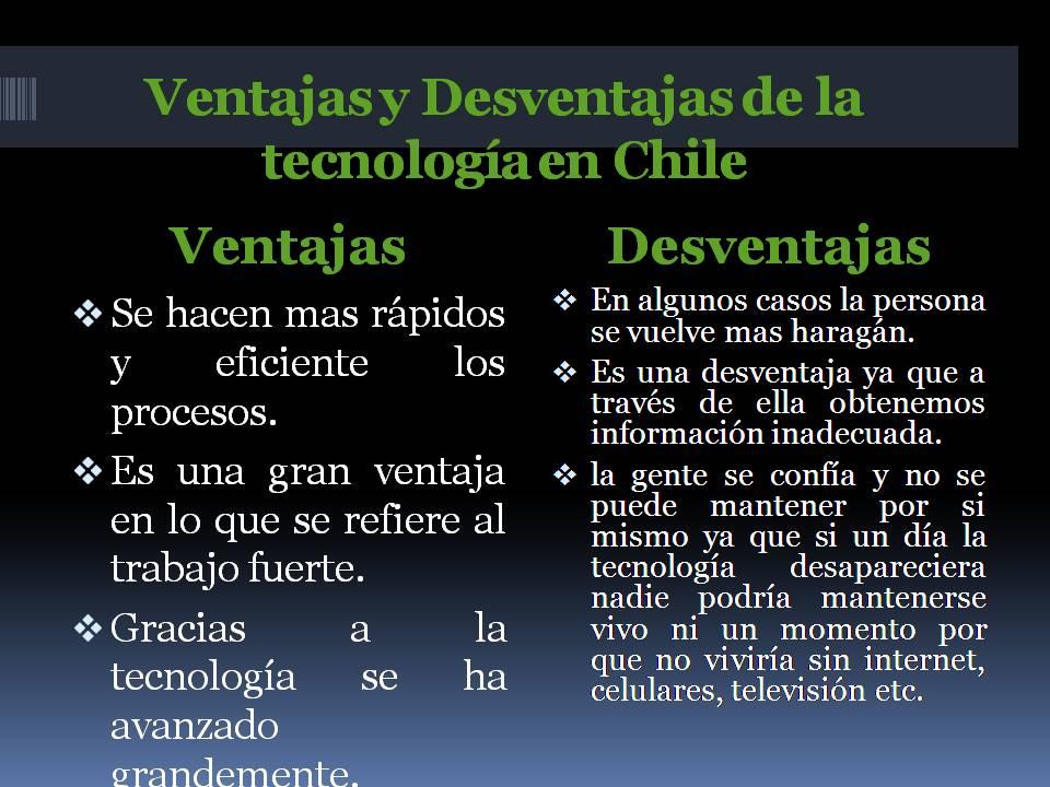 ventajas y desventajas de la tecnología en venezuela