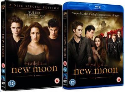 USCITA DVD ITALIANO DI NEW MOON THE TWILIGHT SAGA