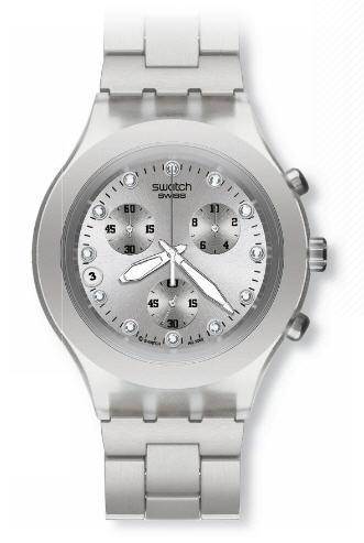 relogio swatch prata