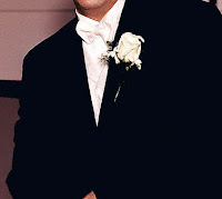 a groom's torso
