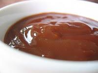 recettes entrees  Dip daubergine sauce barbecue