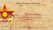Premio ¨Grand Chef¨ de Parnassus Patria de Artistas