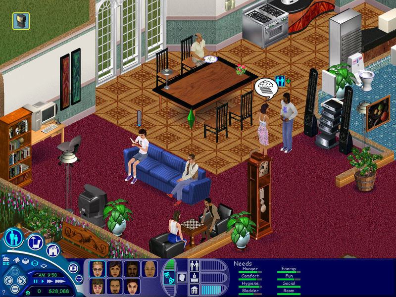 download games like sims for pc