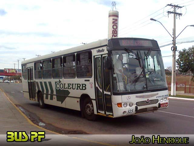 Mostre os ônibus de sua cidade COLEURB+325