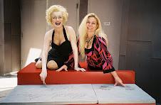 Marilyn Monroe and Beth Walz