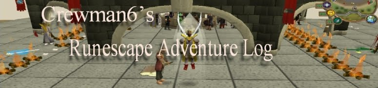 Crewman6's Runescape Adventure Log