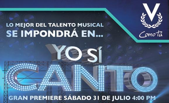 Un programa de Venezuela a España Yo+si+canto
