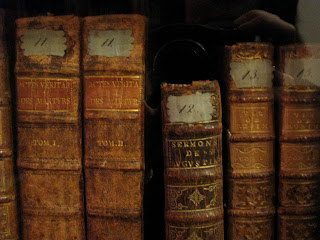 Libros de la biblioteca de Voltaire