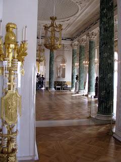 Maravillas de san petersburgo pavlovsk palacio del zar for Sala maravillas