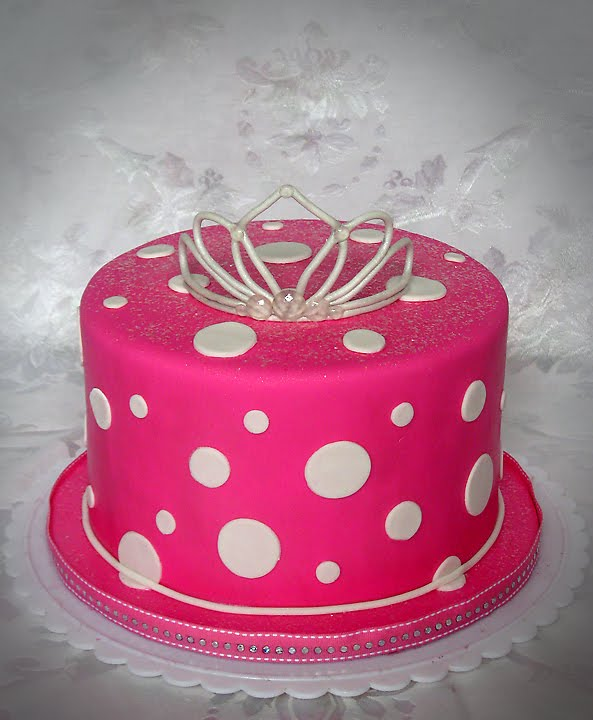 Hot Pink Cake Images : Stacey s Sweet Shop - Truly Custom Cakery, LLC: May 2010