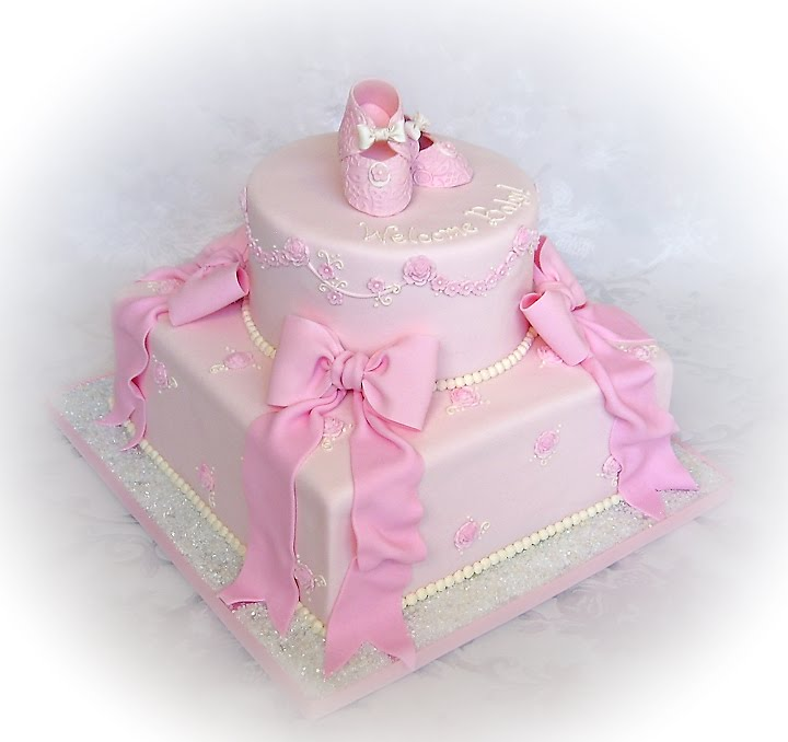 little girls are and that 39 s what a baby girl shower cake should be