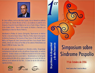 Primer Simposium Sobre Síndrome  Post Polio