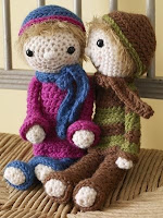 Free crochet doll amigurumi pattern