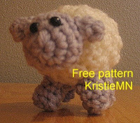 free crochet amigurumi sheep pattern