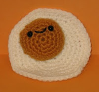 Free corchet pattern amigurumi fried egg
