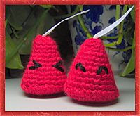 Free crochet pattern chocolate kisses amigurumi