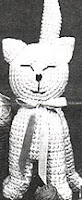 Free cat amigurumi kitty pattern