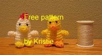 Free crochet amigurumi duck and chicken pattern