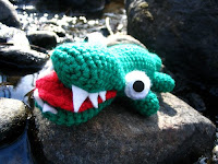 Free crochet alligator pattern
