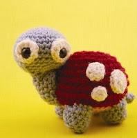 Free turtle crochet amigurumi pattern