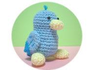Free bird amigurumi pattern