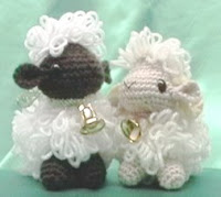 Free sheep amigurumi pattern