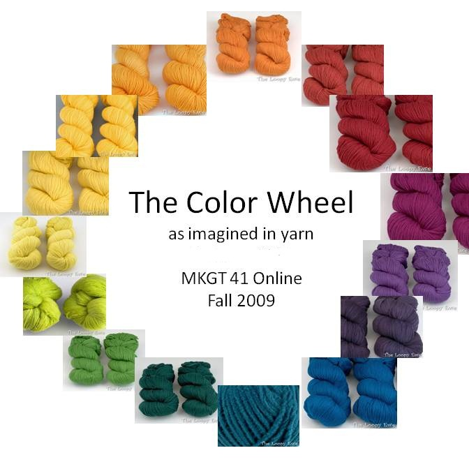 Knitting Color Wheel : The knitting wounded