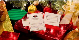 NBwebexpress Gift Certificates