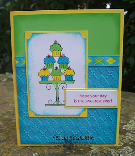 Our Creative Challenge, Stampin' Up! Crazy For Cupcakes