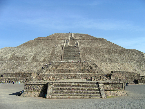 las pirámides de México
