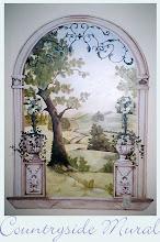 a pretty mural