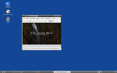 Wether pclinuxos or windows xp, vlc is my darling video player
