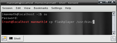 installing standalone flashplayer on pclinuxos