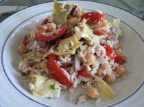 Tuna Rice Salad Food Recipes