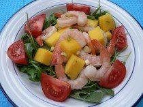 Shrimp and Mango Salad Food Recipes