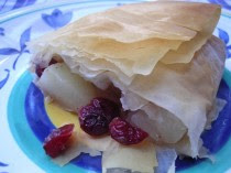 Low Fat Pear Cranberry Strudel Dessert Recipes