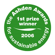 "GANADOR DEL PRIMER LUGAR 2006 ""The ASHDEN AWARDS for Sustainable Energy"""