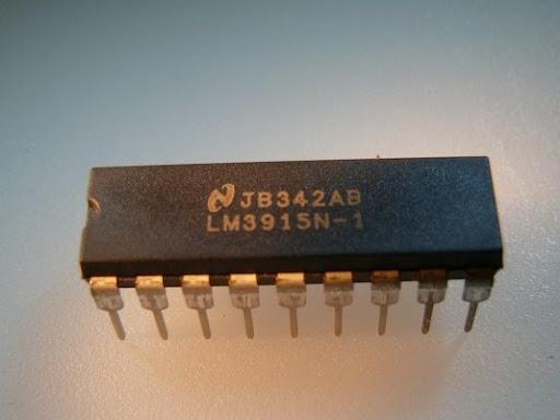 драйвер светодиодов LM3915