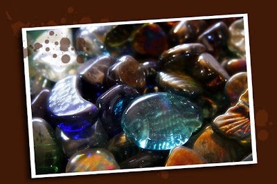 glass pebbles
