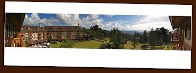 manor hotel, baguio panorama