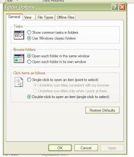 Kembalikan File Terhidden Virus 2