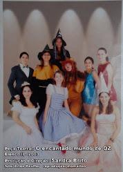 """Peça Teatral """"O Encantado Mundo de Oz"""" - 2004"""