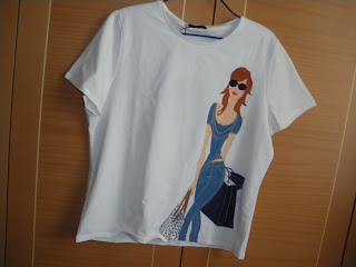 Artesania pintura en tela y manualidades camisetas - Pinturas para pintar camisetas ...