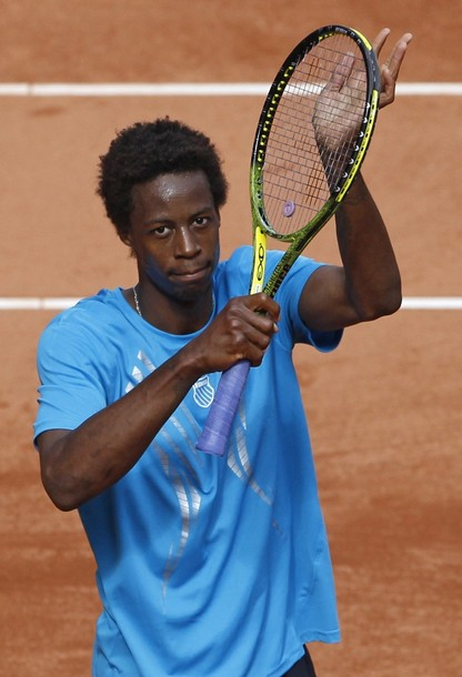 gael monfils hot. Gael Monfils played and won